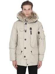 Parajumpers Kodiak Down Jacket W Coyote Fur