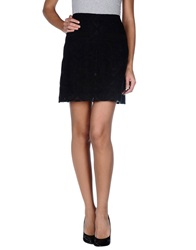 Ailanto Knee Length Skirts Black