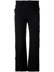 Damir Doma Pia Cropped Trousers Black