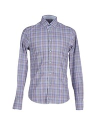 Massimo Rebecchi Shirts Shirts Men Blue