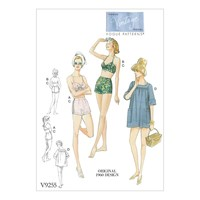 Vogue Women's Top And Shorts Sewing Pattern 9255