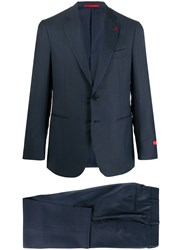 Isaia Fitted Two Piece Suit 60