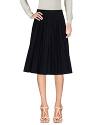 Io Ivana Omazic Knee Length Skirts Dark Blue
