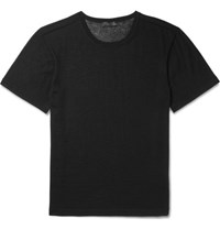 Calvin Klein Collection Rassen Cashmere T Shirt Black