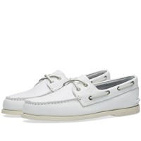 Sperry Topsider Authentic Original 2 Eye White