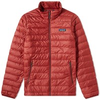 Patagonia Down Sweater Jacket Red