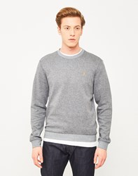 Farah Tiller Crew Neck Sweatshirt Grey