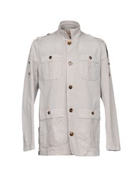 Galliano Jackets Light Grey