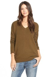 Women's Hinge Split Back Boyfriend Sweater