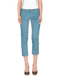 Jacob Cohen Jacob Coh N Trousers 3 4 Length Trousers Women Sky Blue