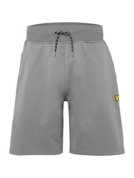 Lyle And Scott Sports Mears Sweat Shorts Slate