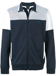 Hugo Boss Colour Block Jacket Blue