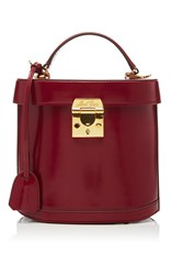 Mark Cross Benchley Bag Burgundy