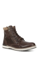 Gbx Plain Toe Boot Brown