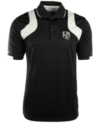 Antigua Men's Short Sleeve Los Angeles Kings Fusion Polo Black White