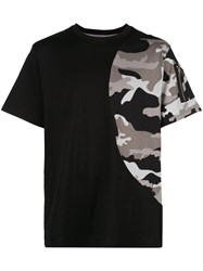 Mostly Heard Rarely Seen Camouflage Print Detail T Shirt 60