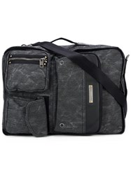 Diesel Multi Compartment Backpack Black