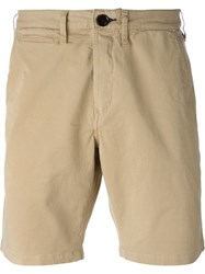 Paul Smith Jeans Knee Length Bermudas Nude And Neutrals