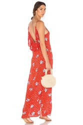 Beach Riot Mila Dress Red