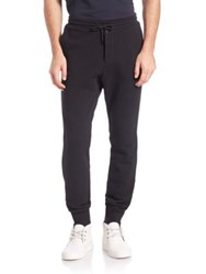 The Kooples Solid Drawstring Sweatpants Black