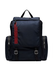 Calvin Klein 205W39nyc Address Embroidered Backpack Blue