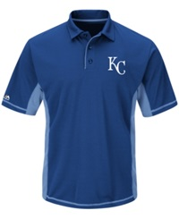 Majestic Men's Kansas City Royals Top Of The Inning Polo