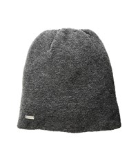 The Asher Charcoal Knit Hats Gray