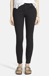 Women's Madewell 'Skinny Skinny' High Rise Jeans Black Frost