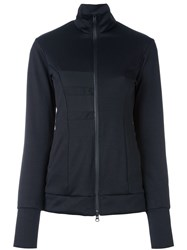 Y 3 Zipped Sports Jacket Black