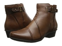 Earth Atlas Almond Calf Leather Women's Boots Brown