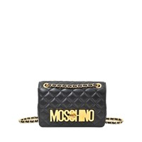Moschino Medium Quilted Flap Bag
