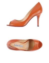 Luciano Padovan Pumps Orange