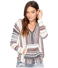 Billabong Island Baja Sweater White Cap 2 Women's Sweater Blue