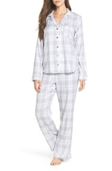 Ugg Raven Plaid Pajamas Sky Blue Plaid