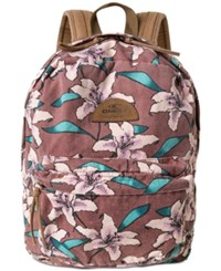 O'neill Juniors' Beachblazer Backpack Withered Rose