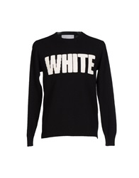 White Mountaineering Sweaters Black