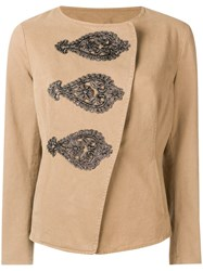 Bazar Deluxe Fitted Jacket Nude And Neutrals