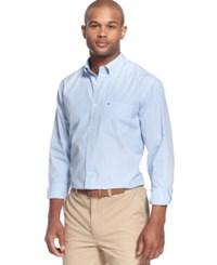 Tommy Hilfiger Fitzgerald Striped Shirt Collection Blue