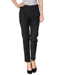 Space Style Concept Casual Pants Deep Purple