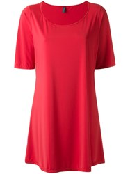 Lygia And Nanny Boat Neck Tunic Red