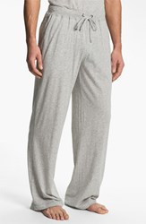 Men's Daniel Buchler Peruvian Pima Lightweight Cotton Lounge Pants Grey Heather