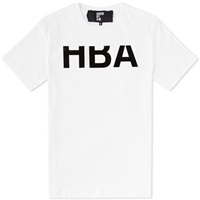 Hood By Air Rehab Logo Tee White And Black