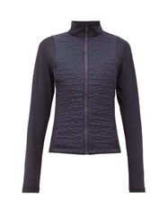 Fusalp Hermine Diamond Quilted Mid Layer Jacket Navy
