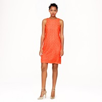 J.Crew Collection Neon Lace Shift Dress