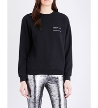 Enfants Riches Deprimes London Is Cotton Jersey Sweatshirt Black