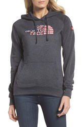 The North Face International Collection Usa Pullover Hoodie Tnf Dark Grey Heather