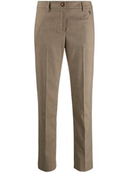 Trussardi Jeans Houndstooth Slim Fit Trousers 60