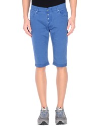 Daniele Alessandrini Trousers Bermuda Shorts Men Blue