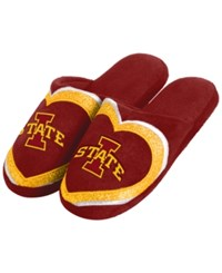 Forever Collectibles Women's Iowa State Cyclones Love Glitter Slide Slippers Assorted