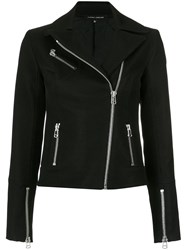 Gloria Coelho Perfecto Mesh Jacket Black